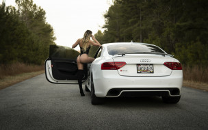 автомобили, -авто с девушками, автомобиль, фон, взгляд, девушка