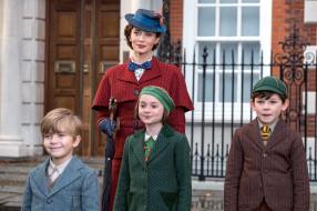 кино фильмы, mary poppins returns, персонажи