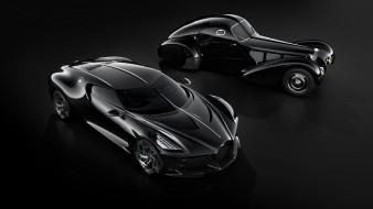 суперкар, бугатти, автосалон женева 2019, bugatti la voiture noire, черный