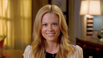 блондинка, Claire Coffee, улыбка, лицо