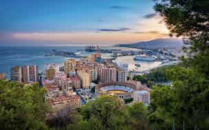 городской вид, испания, андалусия, средиземноморье
