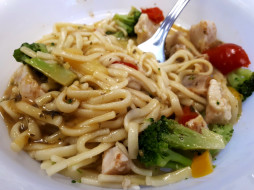 макароны, паста, овощи