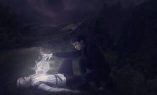 Гарри Поттер, Драко Малфой, магия