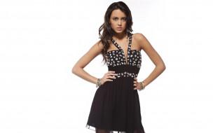платье, браслеты, модель, шатенка