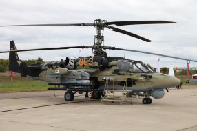 аэродром, вертушка, Аллигатор, боевой, вертолёт, КА- 52