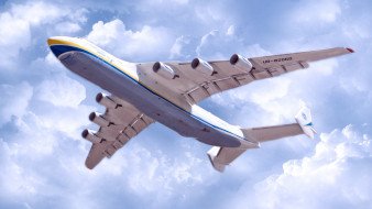 транспортный самолет, антонов, ан225 мрия, реактивный самолет