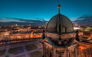 города, берлин , германия, potsdamer, platz