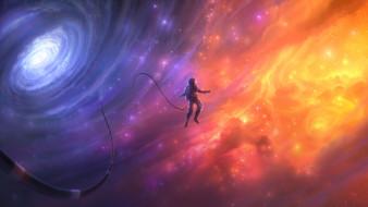 космонавт, вселенная