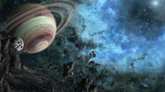 галактика, звезды, вселенная, планета
