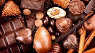 конфеты, ассорти, шоколадные