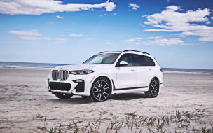 немецкие автомобили, bmw g07, внедорожники, премиум класс, автомобили 2019 года, бездорожье