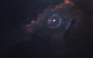 космос, галактика, звезды, вселенная