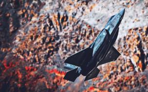 lockheed martin, реактивный истребитель, боевой самолет, истребитель, крупный план, lockheed martin f35 lightning II, американская армия