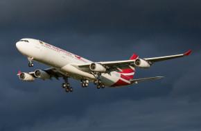 обои для рабочего стола 2048x1346 авиация, пассажирские самолёты, полет, самолет