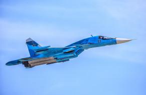 транспортное средство, fullback, вкс россии, военный самолет, россия, сухой, су34