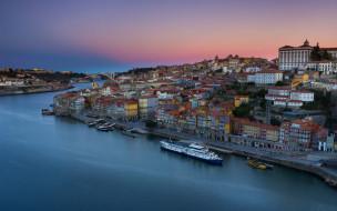 города, порту , португалия, река