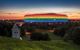 города, мюнхен , германия, стадион