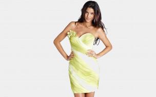 платье, брюнетка, модель
