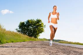 кроссовки, женщины на улице, девушка, фитнес, спортивный бег