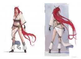 персонаж, девушка, Нарико
