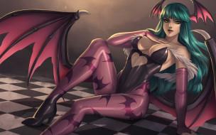 аниме, darkstalkers