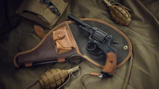 оружие, револьверы, револьвер