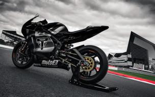 triumph daytona 765, мотоциклы, triumph, мотоспорт, триумф, прототип, daytona, 765, трек