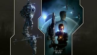 корабли, планеты, девушка, парень, оружие, космос