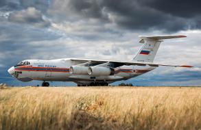 ИЛ- 76, транспортный, аэродром, самолёт