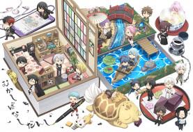 аниме, touken ranbu, малыши