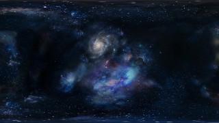 космос, галактики, туманности