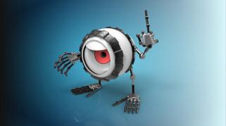 фон, игрушка, глаз