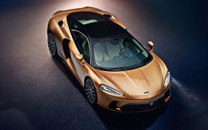 британские автомобили, спортивный автомобиль, купе, вид сверху, бронзовый, суперкар, внешность