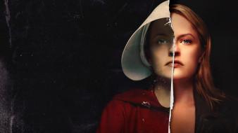 триллер, элизабет мосс, фантастика, постер, 2019, 3 сезон, сериал, рассказ служанки