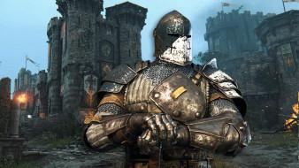 латы, замок, крепость, рыцарь