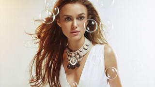 декольте, ожерелье, пузыри, лицо, актриса