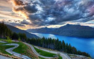 природа, пейзажи, дорога