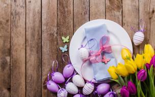 пасха, фон, цветы, яйца