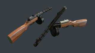 оружие, автоматы, ппш-41