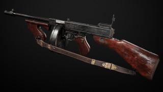 оружие, 3d, thompson, m1928