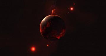 планета, вселенная, галактика, звезды