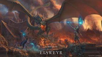 The Elder Scrolls Online, онлайн, ролевая