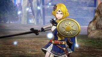 меч, щит, девушка, Лианна