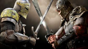 доспехи, броня, мечи, рыцари