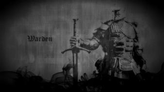 меч, доспехи, рыцарь, Варден
