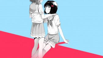 аниме, hibike euphonium, девушки