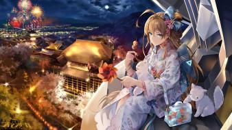 аниме, iron saga, девушка