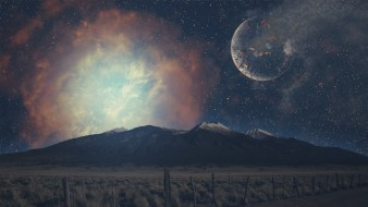 планета, горы