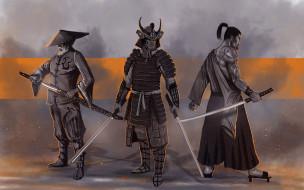 униформа, меч, фон, мужчины
