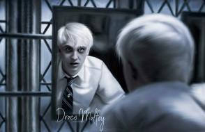 зеркало, галстук, Драко Малфой